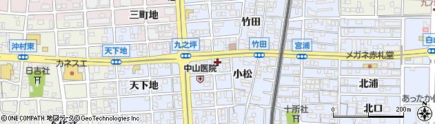 BINIBINI周辺の地図
