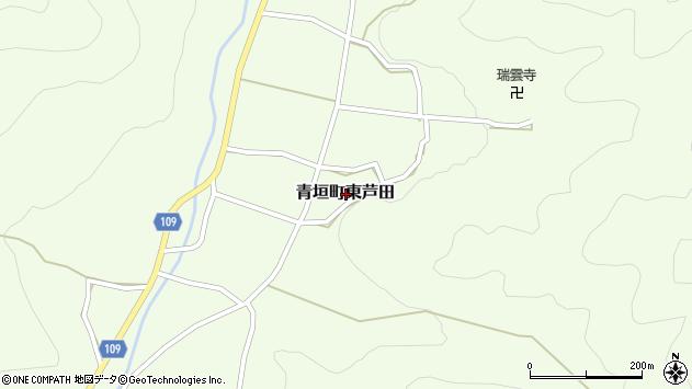〒669-3801 兵庫県丹波市青垣町東芦田の地図