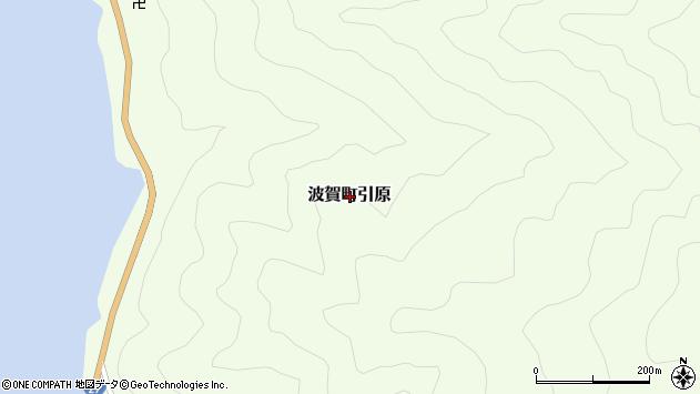 〒671-4204 兵庫県宍粟市波賀町引原の地図