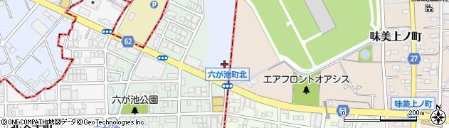 愛知県名古屋市北区楠町(如意字摺鉢池)周辺の地図