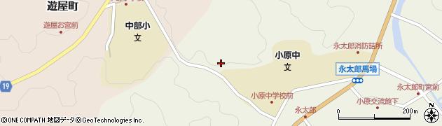 愛知県豊田市永太郎町(小網)周辺の地図