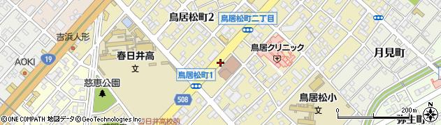鉄飯s周辺の地図