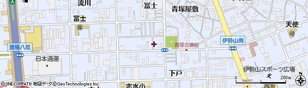 たらち根周辺の地図