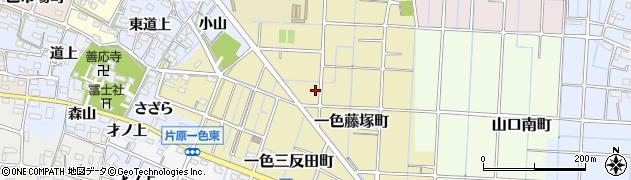 愛知県稲沢市一色藤塚町周辺の地図