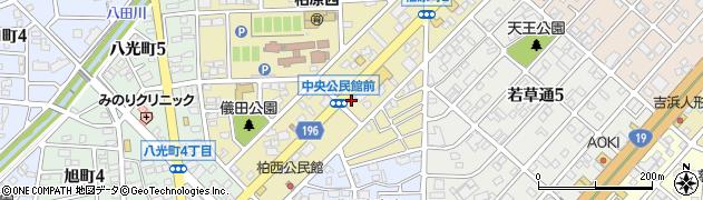 ピザーラ春日井店周辺の地図