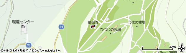 仏母寺周辺の地図