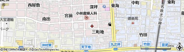 東レ社宅周辺の地図