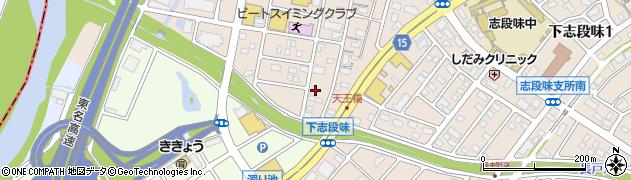 愛知県名古屋市守山区下志段味(西の原)周辺の地図