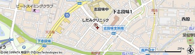 愛知県名古屋市守山区下志段味(作り道)周辺の地図