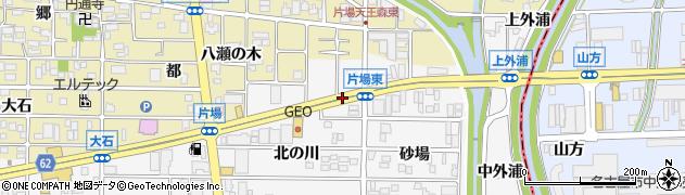 愛知県北名古屋市高田寺(杁ノ口)周辺の地図