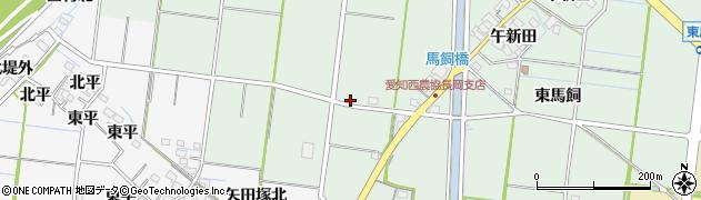 愛知県稲沢市祖父江町馬飼(南藤治山)周辺の地図