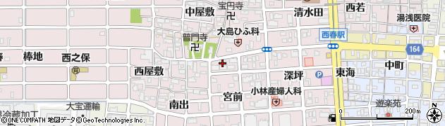月華周辺の地図