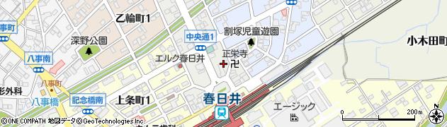 かくれ家周辺の地図