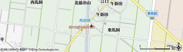 愛知県稲沢市祖父江町馬飼(仙入坊)周辺の地図