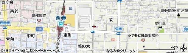 魚有てん 西春店周辺の地図