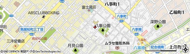 ユニオン周辺の地図