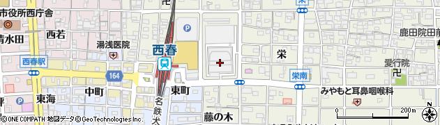 愛知県北名古屋市鹿田(大日堂附)周辺の地図