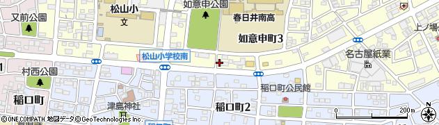 シンシア周辺の地図