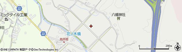 愛知県瀬戸市鳥原町周辺の地図