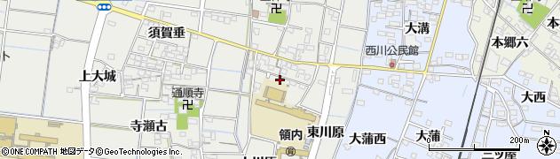 愛知県稲沢市祖父江町二俣(池田)周辺の地図