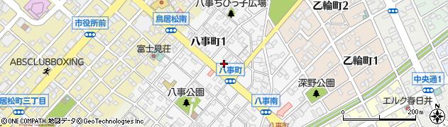有限会社いづみ旅館周辺の地図