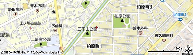 柏原ハイツ周辺の地図