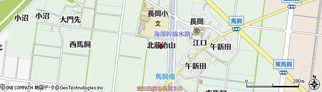 愛知県稲沢市祖父江町馬飼(北藤治山)周辺の地図