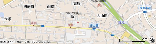 えくぼ周辺の地図