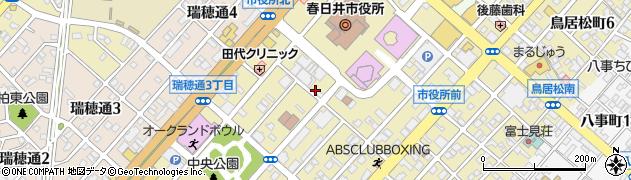 花の木周辺の地図