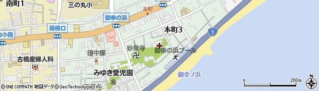 徳常院周辺の地図
