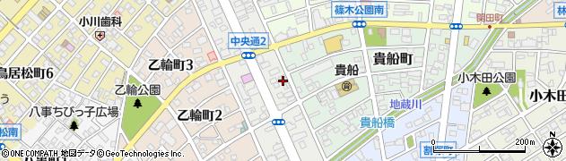 勇吉2号店周辺の地図