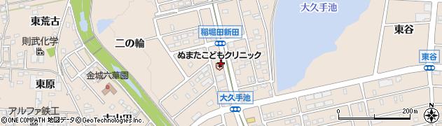 愛知県名古屋市守山区上志段味(稲堀田新田)周辺の地図