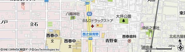 キャンドル周辺の地図