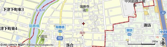 スイング周辺の地図