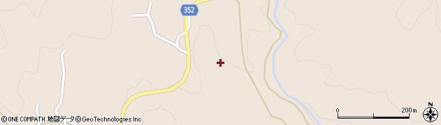 愛知県豊田市白川町(坂下)周辺の地図