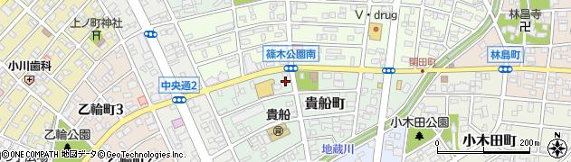 エスポアール周辺の地図