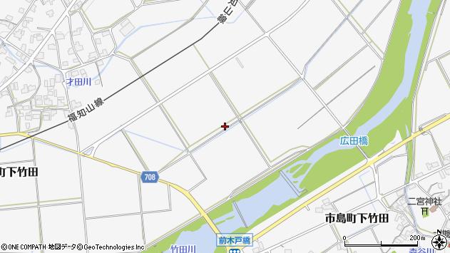 〒669-4301 兵庫県丹波市市島町下竹田の地図
