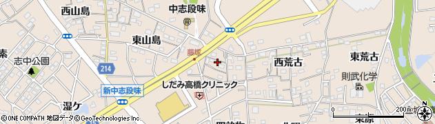 愛知県名古屋市守山区中志段味(冨士塚)周辺の地図