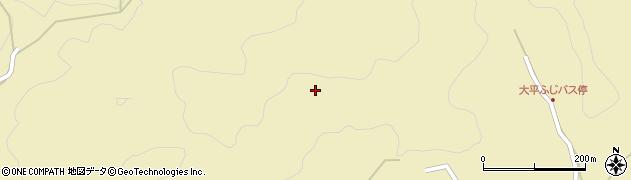 愛知県豊田市大岩町(石田)周辺の地図