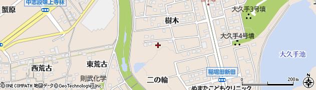 愛知県名古屋市守山区上志段味(二の輪)周辺の地図