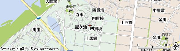 愛知県稲沢市祖父江町馬飼(寺東)周辺の地図