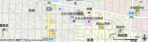 さかき周辺の地図