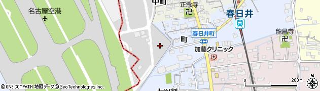 愛知県春日井市春日井町(町)周辺の地図