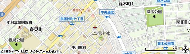 しのぶ周辺の地図