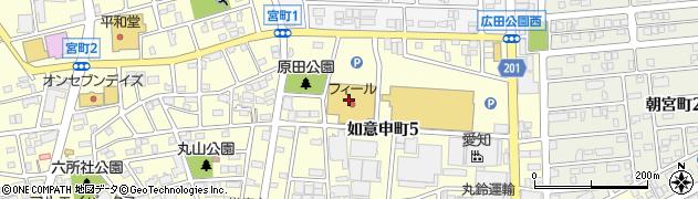 さくら屋フィールネットワーク店周辺の地図