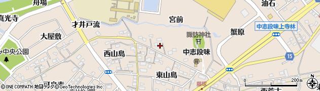 愛知県名古屋市守山区中志段味(宮前)周辺の地図