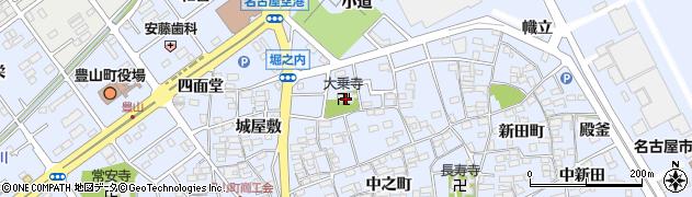 大乗寺周辺の地図