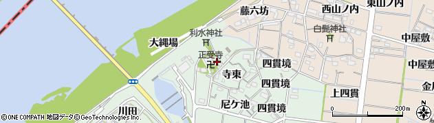 愛知県稲沢市祖父江町馬飼周辺の地図