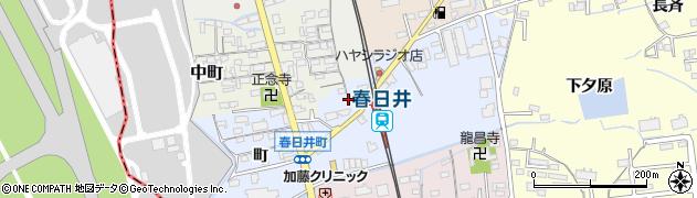 愛知県春日井市春日井町(黒鉾)周辺の地図
