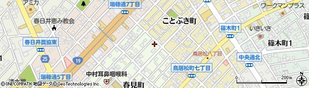かすが周辺の地図